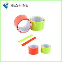 Alibaba supplier 2015 New Products for promotions reflective slap band