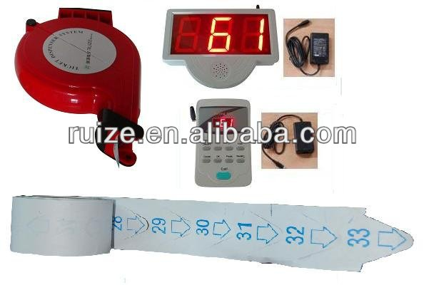 Manual Ticket Dispenser Simple Queue Management System Machine for hospital and clinic
