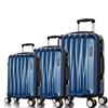 2016 Newest Design Hot Selling Trolley Luggage Bags Blue with Lock