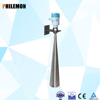 Fuel tank horn antenna radar level meter