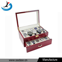 Wholesale custom high quality lacquer wooden box for watch