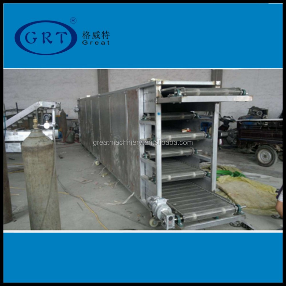 Continuous conveyor mesh belt dryer / cotton drying machine
