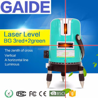 3red+2green buy cheap 360 degree auto leveling laser level