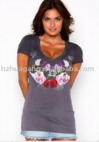Free shipping!top quality women's ED hardy t-shirt (paypal accepted)