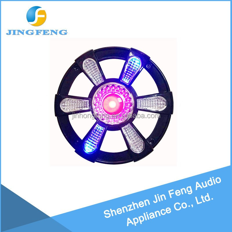 easy to install auto parts speaker plastic cover led grille downlight