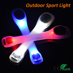 Multi Color Wrist Band LED Night Safety Running Warning Light