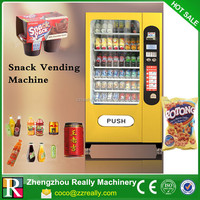 bottled water vending machine cup noodle vending machine for sale