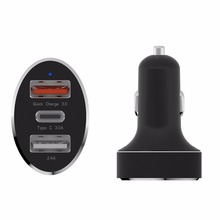 quick charge in car car charger,mobile power supply quick car charger 3.0,multi-port usb car charger quick charge 3.0