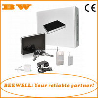 Wireless home alarm system security and GSM SMS alarm