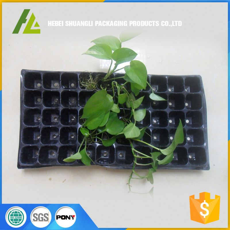 practical ps hydroponic plastic nursery blister garden seeding growing trays