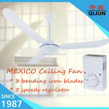 Mexico 56inch Air Cool Breeze Industrial Ceiling Fan Power Consumption