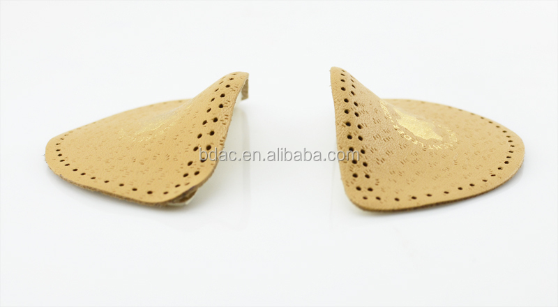 leather hard foam high arch foot support rubber arch support insoles