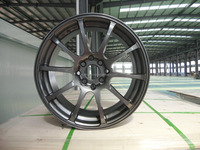 racing with Egg Matte Clear Factory Alloy Wheel