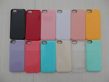 Plain mobile phone back covers for apple iPhone 5S case