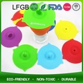 Hot sale silicone waterless bow handle glass lid