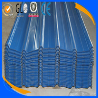 hot sale 0.23mm Ppgi Color Coated Corrugated galvanized or aluzinc roofing Steel Plate,export south america ,made in china