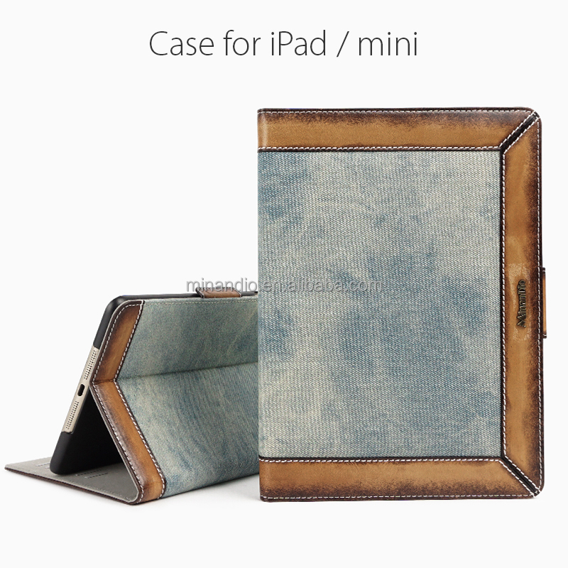 New Arrival High Quality leather case for apple ipad air 2