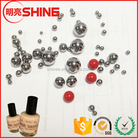 "3mm AISI 304 SUS 304 G200 1/8"" Nail Polish Stainless Steel Ball"