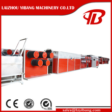 PP/PE plastic fiber extruding machine for net/rope making