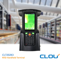 Rugged design IP65 rugged android phone with nfc for warehouse management
