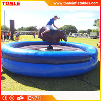 high quality inflatable mechanical bull for sale, inflatable rodeo bull riding machine, mechanical bull price wholesale