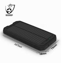Factory Directly cell phone and laptop or outdoors Solar Charger 10000mAh