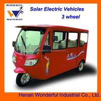 New diesel Solar electric bicycle taxi for passenger
