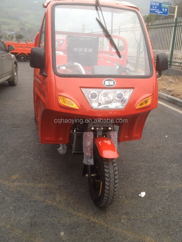 Heavy Duty 150cc Water Cooled Trimotos 3 Wheeled Motorcycle