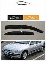 CAR DOOR VISOR RAIN DEFLECTOR FOR RENAULT MEGANE-1/ MEGANE-2/MEGANE-3 USE
