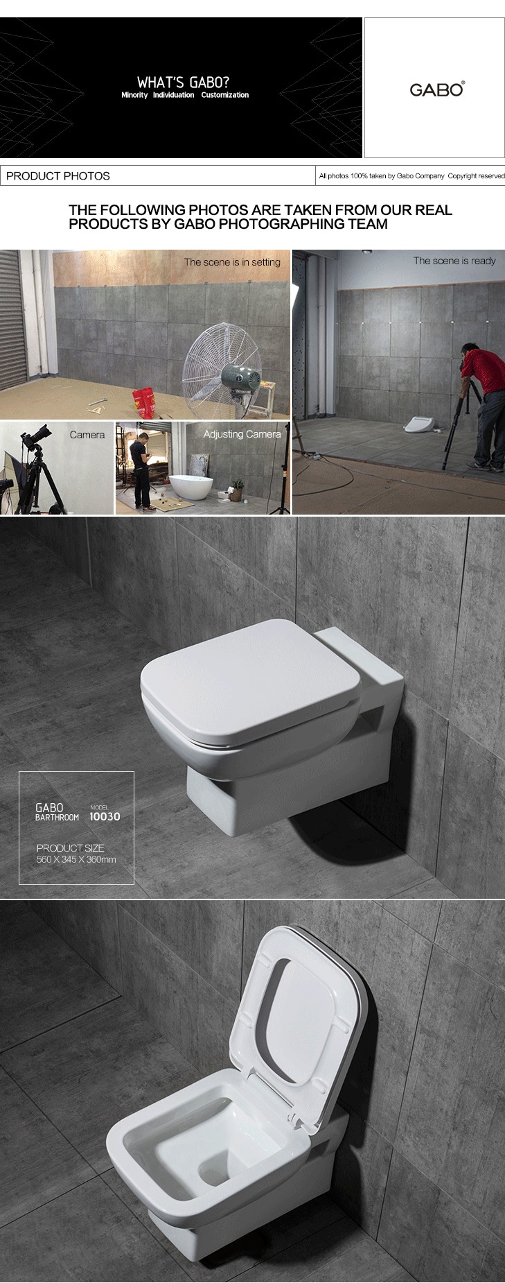High Quality Wall Mounted More Than 10 Inch Rough in Toilet