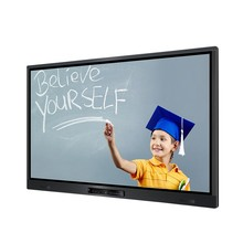 98 inch interactive white board touch screen TV with built in computer
