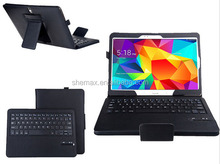 High Quality Tablet Removable Bluetooth Keyboard Case For Samsung Galaxy Tab 4 10.1
