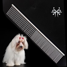 Dog Comb Pet Comb Metal Lice Comb For Grooming