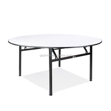 Fashionable design wholesale used round banquet tables for sale