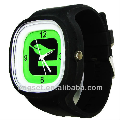 2015 colorful promotional sports silicone watch fashion watches colors