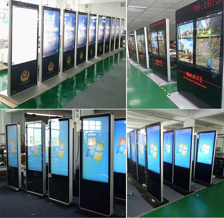 customized lcd digital signage kiosks ad player