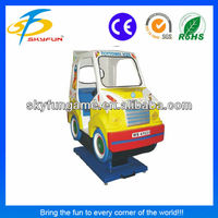 guangzhou factory games ice cream van(2seats) kids cars electric