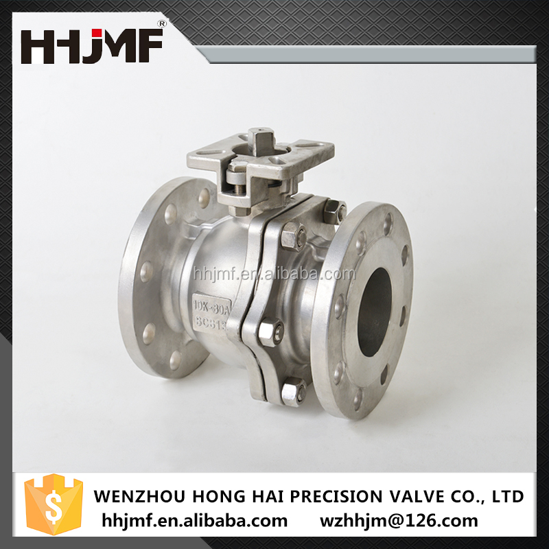 High quality CF8 Stainless steel JIS ball valve