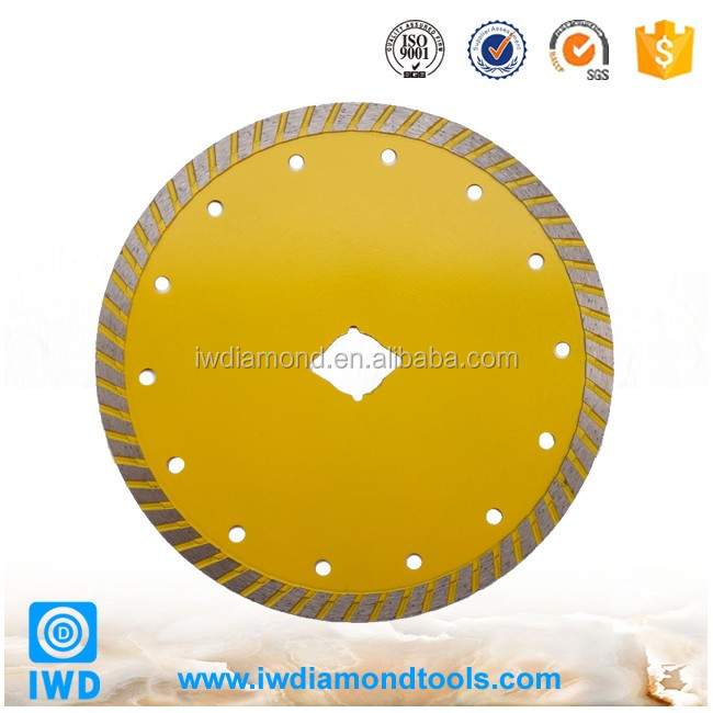 China Prefessional Manufacture supply Continuous Rim Tile Diamond Saw Blades Fast Cutting Speed Diamond Saw Blades for Tile