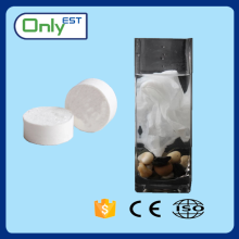 Non-woven custom shaped compressed tissue/magic towel/coin tissue