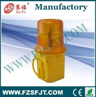 round shape led traffic light for road construction