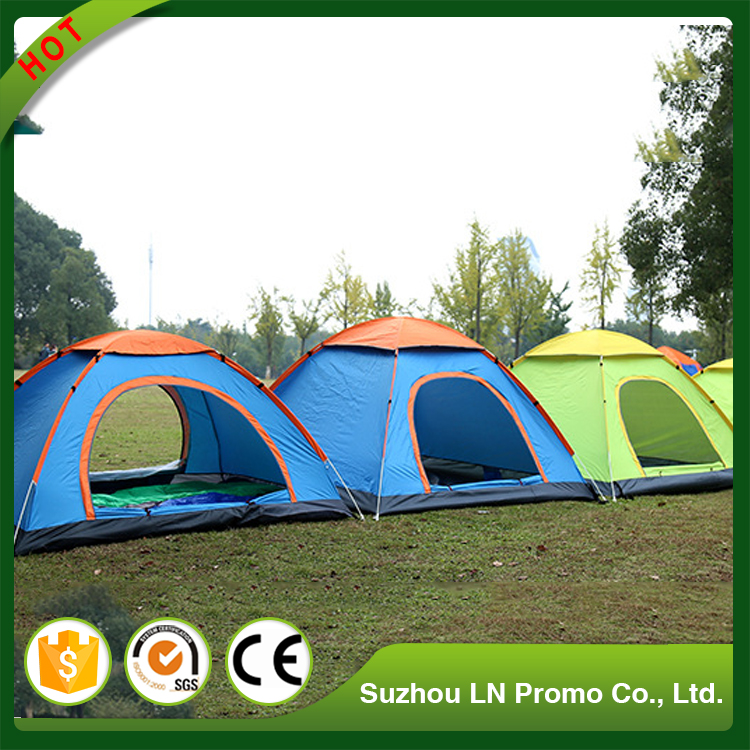 Waterproof Cheap Outdoor 4 Person Camping Family Tent