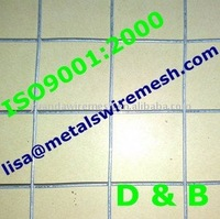 "Yuan Da 1""x1"" Hot Dipped Galvanized Welded Wire Mesh (ISO9001:2000 Factory)"