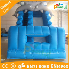 kids cheap inflatable water slides dolphin inflatable slide