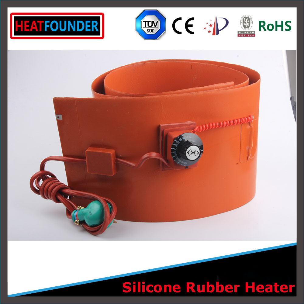 3.7v 5v 7.4v 9v 12v dc 24v dc 36v 48v silicone warming <strong>heater</strong>