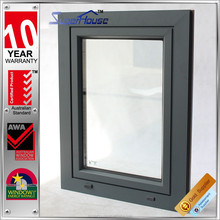 commercial aluminum anti-noise windows manufacturers,pvc and aluminum frame tilt and turn window