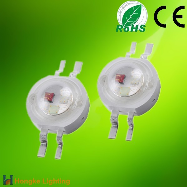 China Market Hongke High Power 1w RGB LED