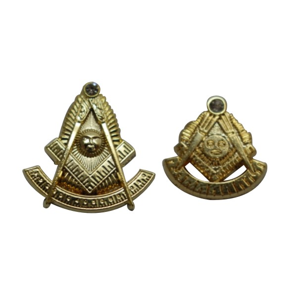 custom arts and crafts masonic lapel pins for wholesale