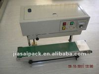 continuous band sealer with printing FRD900 constant heat sealer poly bag sealer