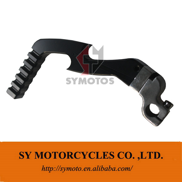 CNC KICK start lever CNC Motorcycle starter kick starting lever lightning